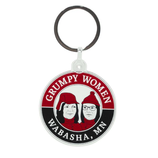 Grumpy Women Keychain