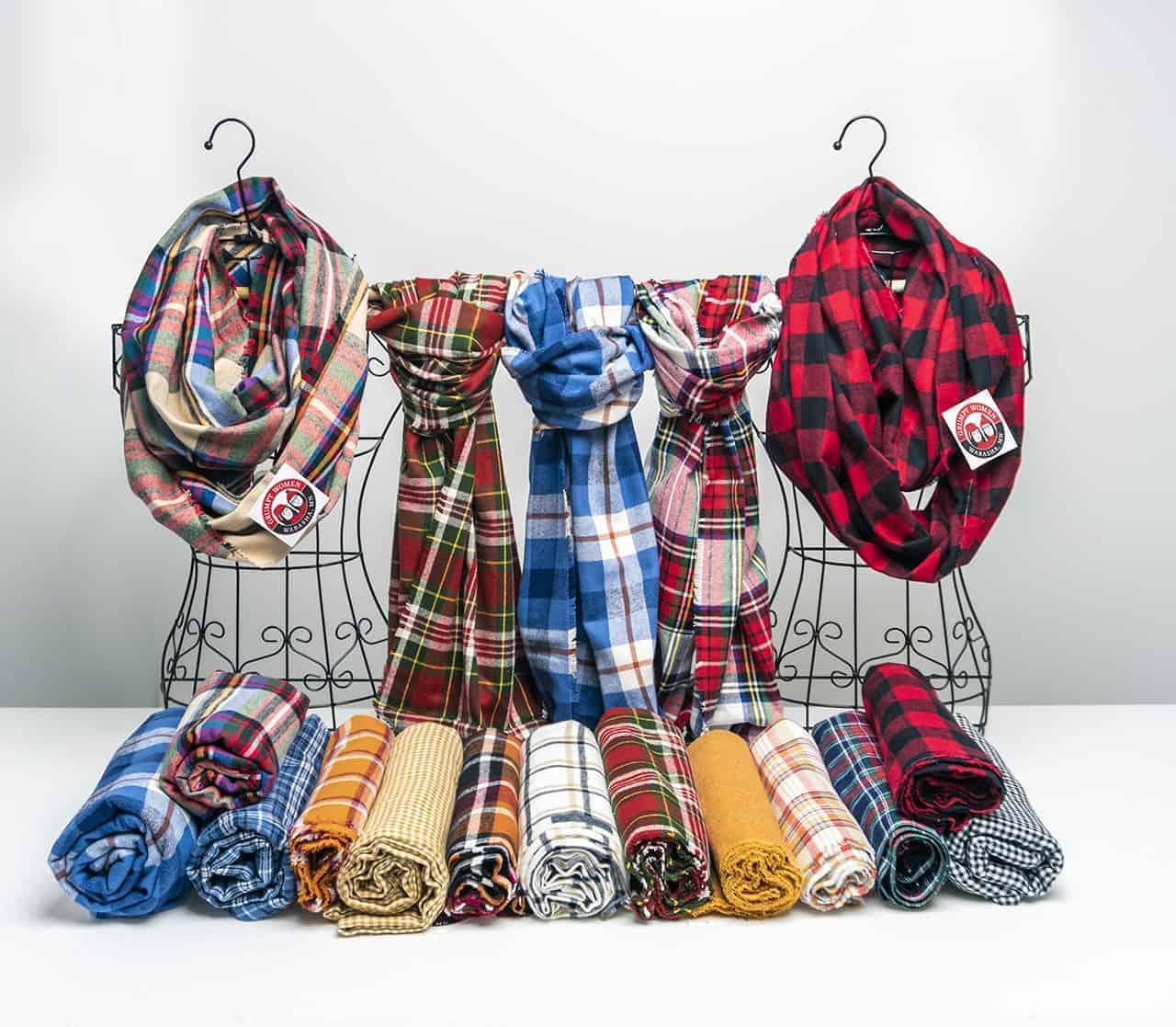 Grumpy Women Flannel Scarves