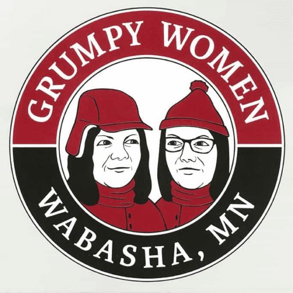 "Reusable 3"" Grumpy Women Drink Coaster"
