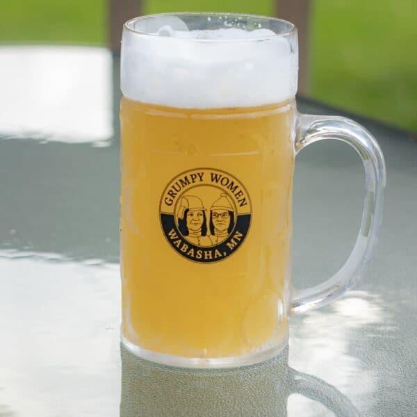 Grumpy Women Beer Mugs Plastic