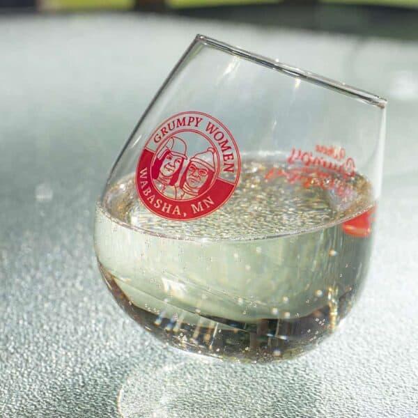 Wobble Rocker Wine Glass 12 oz